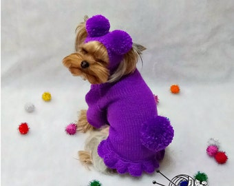 2fb639fe8ea pet costume, dog sweaters, dog costume, designer dog clothes, yorkie sweater,  pet costume for dog, small dog sweaters, knit dog dress