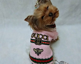 de839319984 dog sweater small hand knit dog clothes yorkie puppy clothes girl dog  sweater Hand Knit Dog Clothes dog winter coat chihuahua clothing