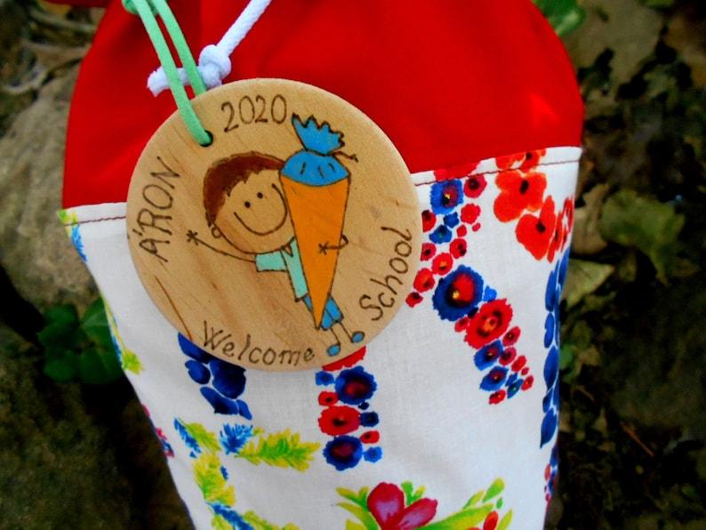 Letter Flower Schultute Beginning of school schult\u00fcte kinder cone gift cone in 3 size