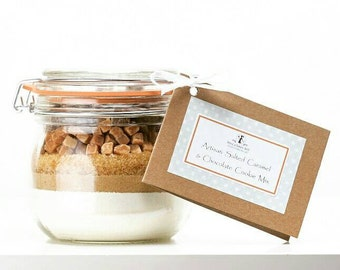 Cookie Mix - Artisan Salted Caramel & Chocolate Cookie Mix - available gluten free