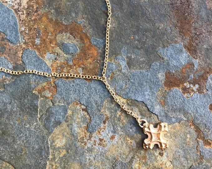 Golden Cross Necklace