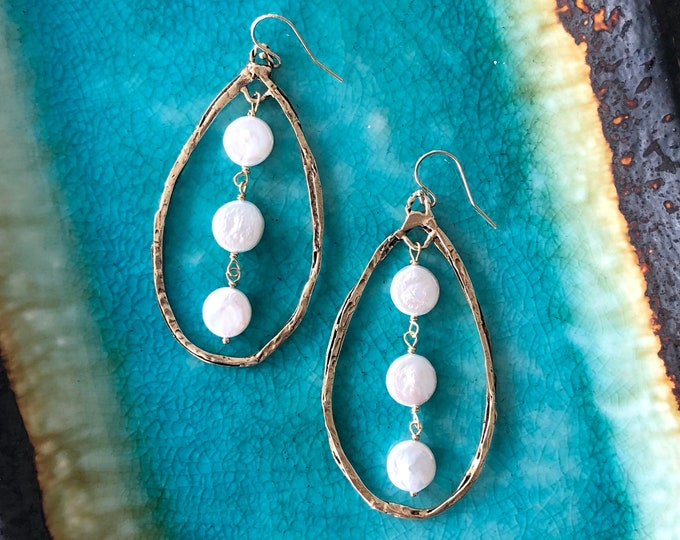 Above The Clouds Earrings