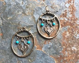 Blue Gypsy Earrings