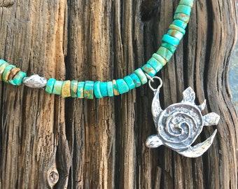 Island Sea Turtle Necklace