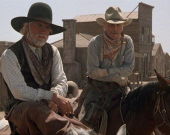 486244478a046 Mouse Pad Gus   Woodrow on Horseback Lonesome Dove Picture on Mouse Pad