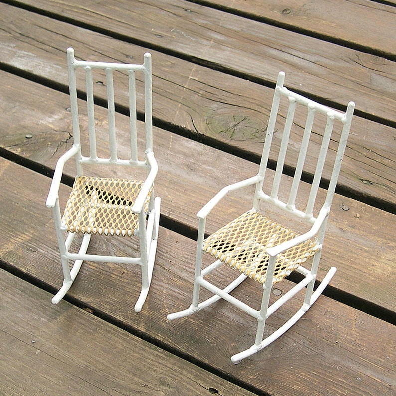 Surprising Miniature Yard Chairs Handmade Metal Set Download Free Architecture Designs Rallybritishbridgeorg