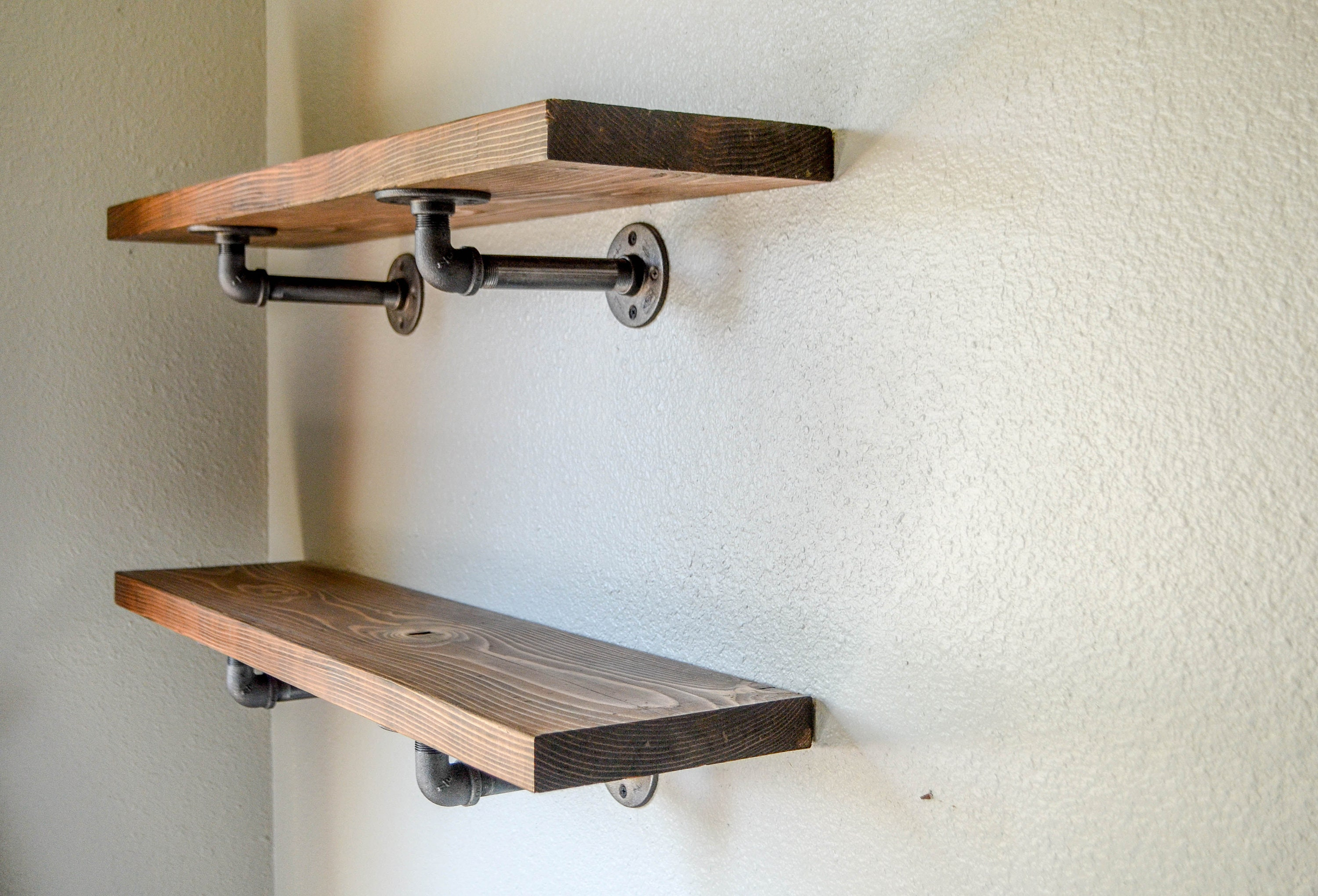Industrial Pipe Shelving 48x7 5 Pipe Shelf Open Shelving Farmhouse Shelving Farmhouse Decor Valentine S Day Kitchen Shelving Dining