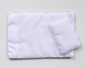 Handmade duvet & pillow in two sizes