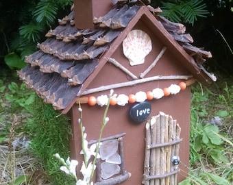 Garden Fairy house, Garden decoration, Fairy house, Hand made fairy house
