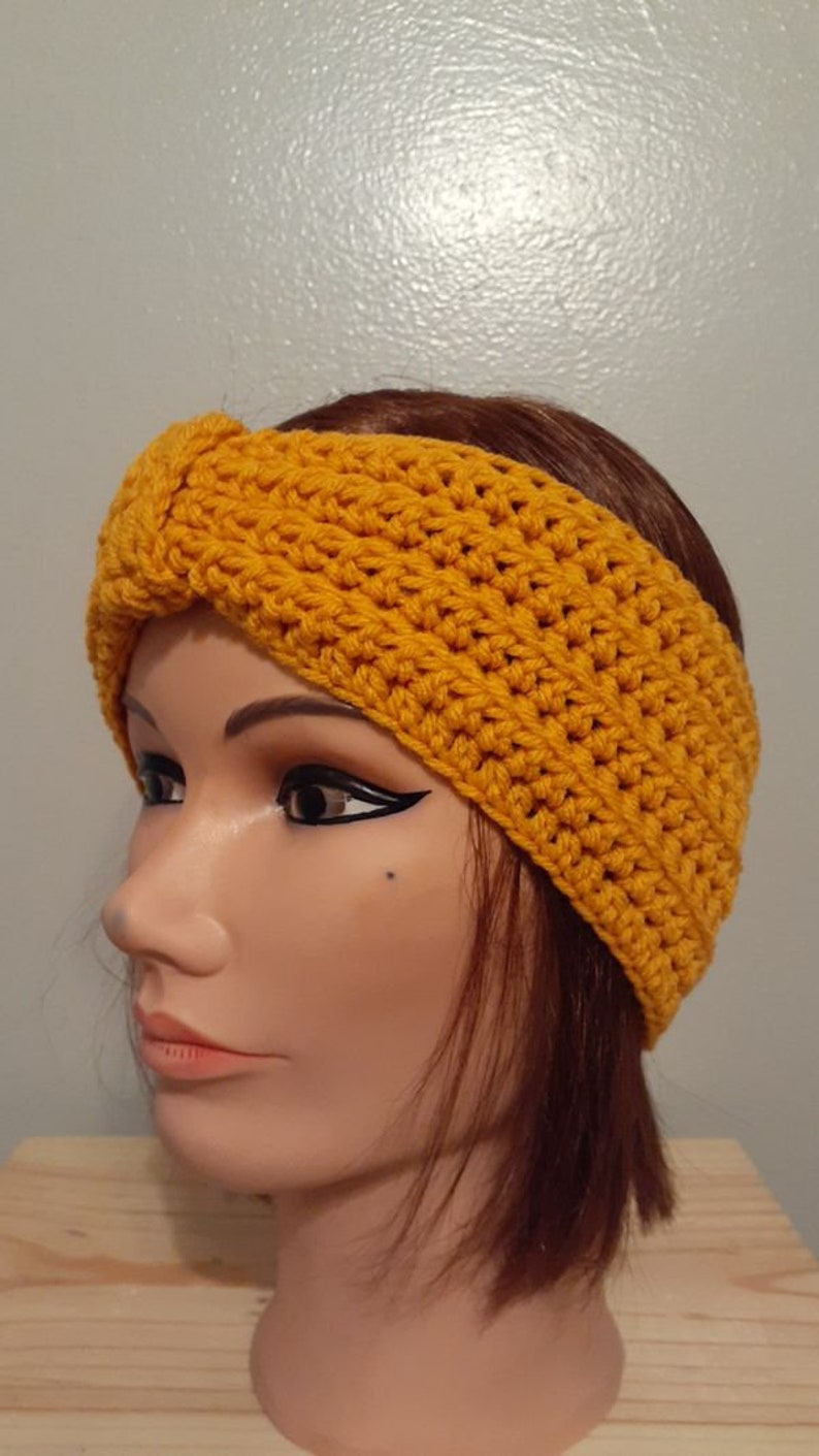 Warm Headband Crochet Earwarmer Headband Winter Ear Warmer