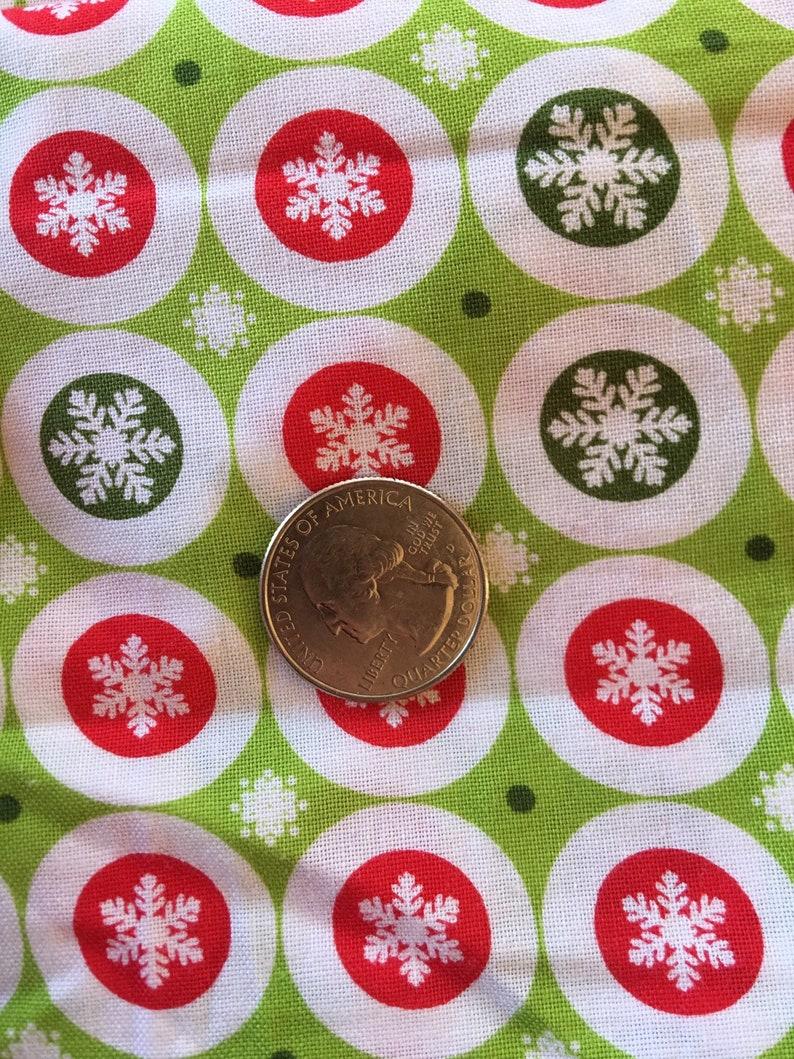 end of bolt Christmas Fabric  16