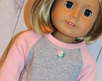 18 Doll Gray Swan Short Sleeve T-Shirt
