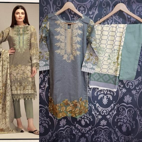 Indian//Pakistani//Bollywood Salwar//Shalwar Kameez Suit Stitched SALE 10/% OFF