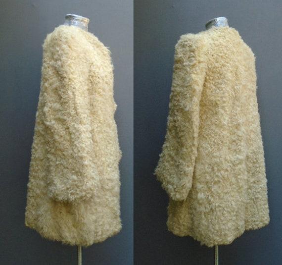 Superb Original Vintage 1940s Coat Jacket Hood Mu… - image 5
