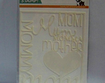 Simon Says Stamp - Love Mom Stencil - SSST121348