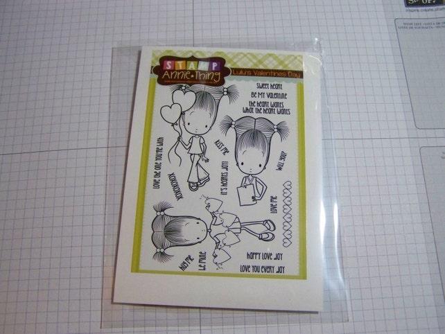 Lulu's Valentine's Day by Stamp Annie Thing