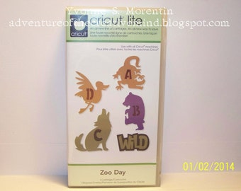Zoo Day Cricut Cartridge