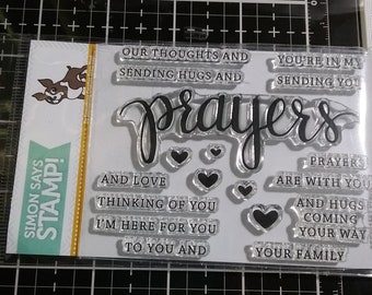Simon Says Stamp and Die Set  -Prayers