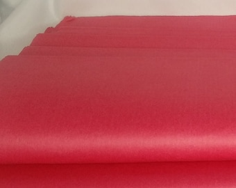 Cherry Red Tissue Paper, Bright Red Tissue Paper,  Gift Grade, 20 x 30 inches, Premium Tissue Paper,  12 Sheets