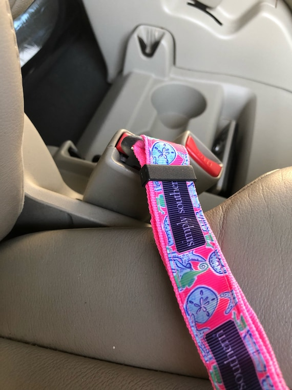 Stupendous Lilly Pulitzer Dog Pet Car Seatbelt Leash All Nighter Print Alphanode Cool Chair Designs And Ideas Alphanodeonline