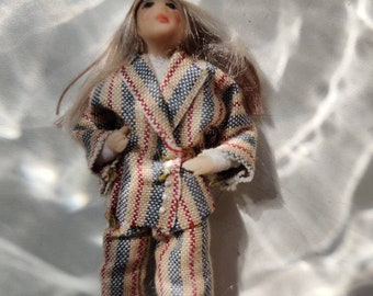 Stay at home in pijamas doll Hügge