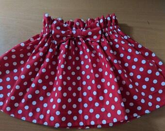 Minnie Mouse Bow Skirt