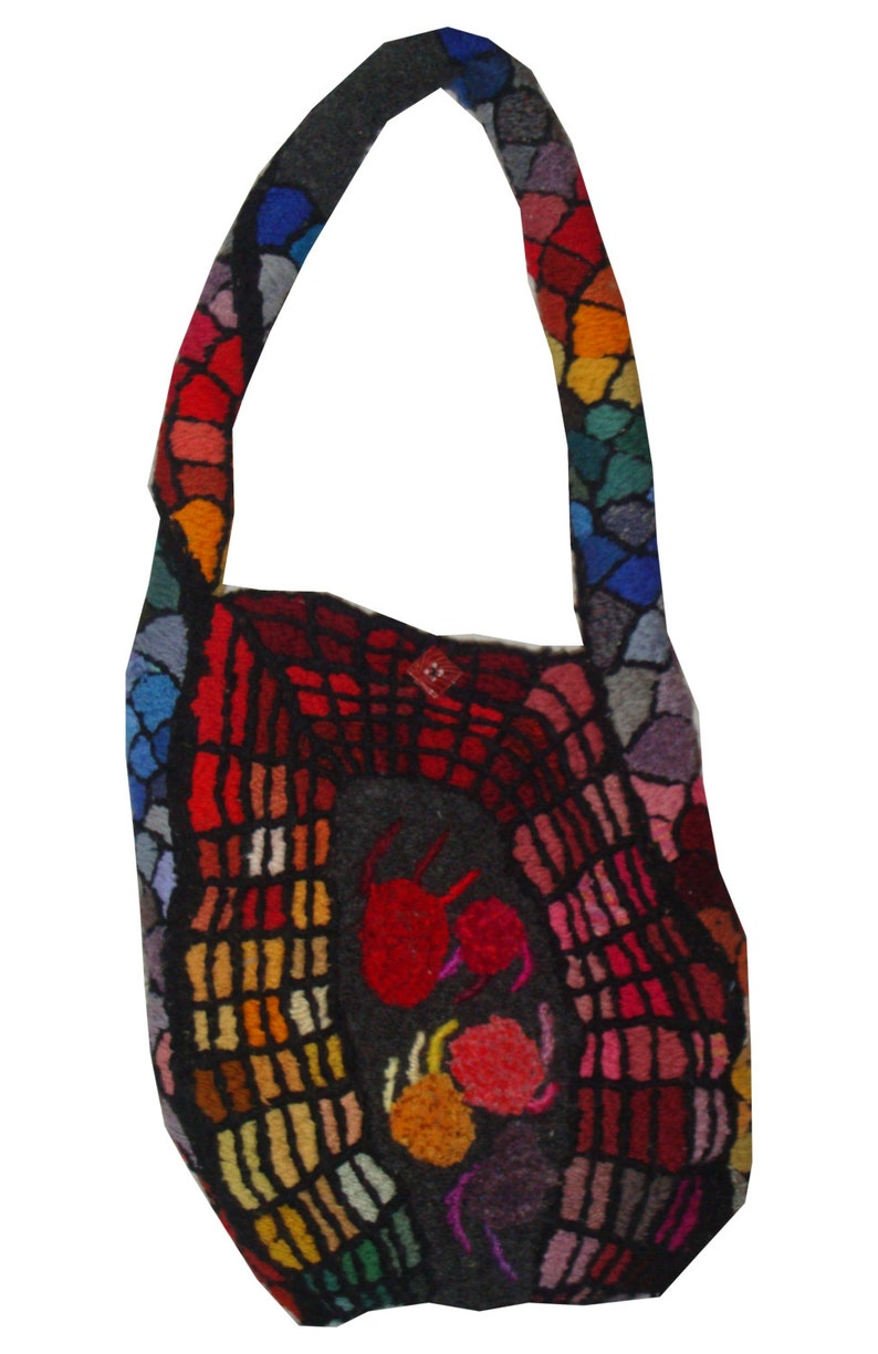 Geek Chic  embroidery sculpted handbag David Wolfe 2013 image 0
