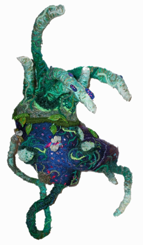 Ormus Rhodium  embroidered punchneedle backpack David Wolfe image 0