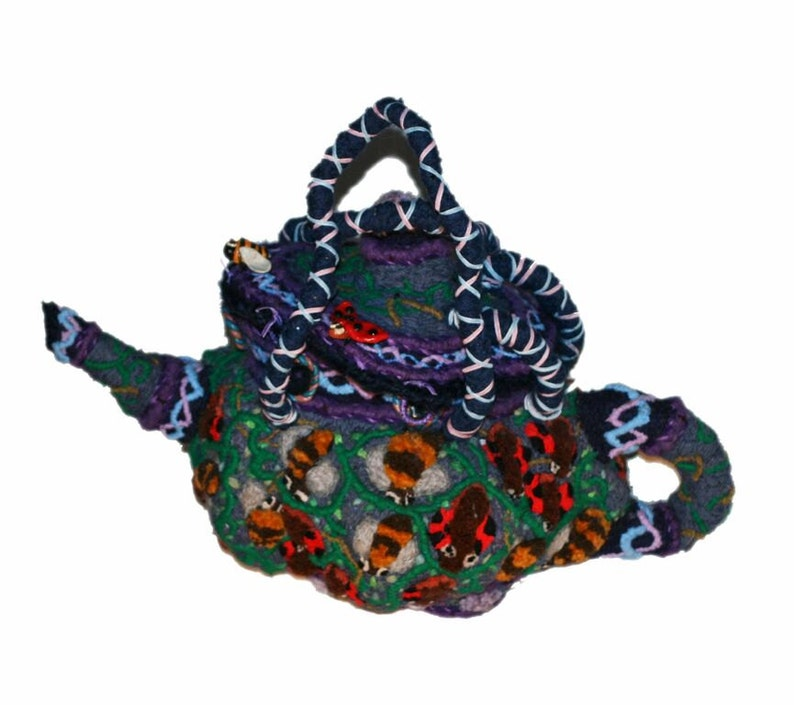 Fertilitea David Wolfe 2015 surreal embroidered handbag or image 0