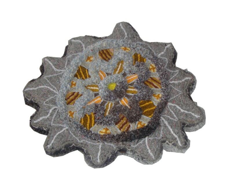 Forsaken  floor cushion or wall art David Wolfe 2014 image 0