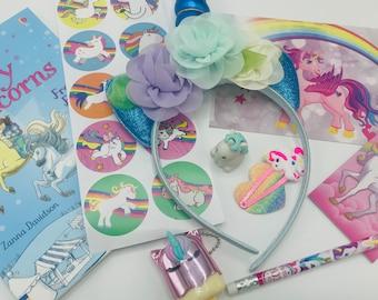 Magical Unicorn box gift, birthday box gift, unicorn lockdown gift, gift for boy, gift for girl, magical unicorn, educational gift