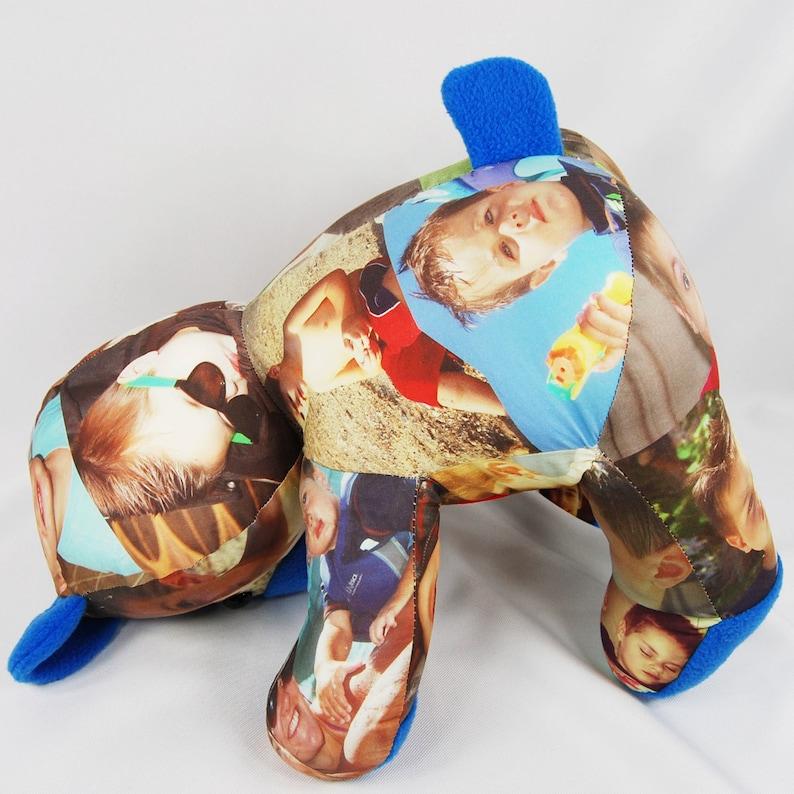 Personalized Photo Teddy Bear