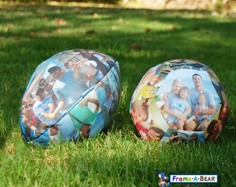 Personalized Stuffed Sports Balls