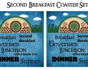 Second Breakfast Coasters