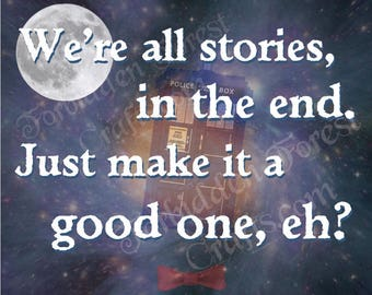 Stories in the End - Eleventh Doctor