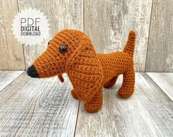 Knit Dachshund Dog Free Knitting Pattern+++++ | 270x340