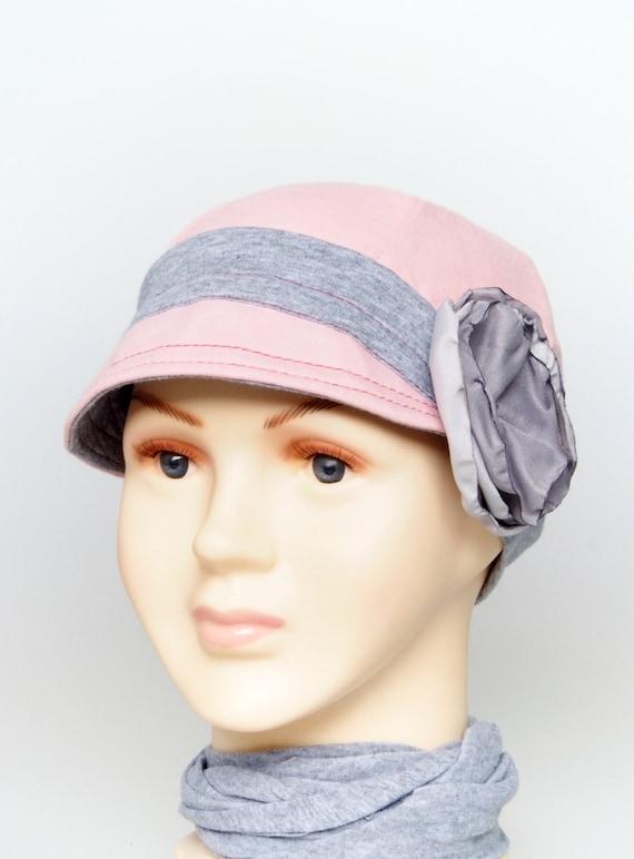 Kids cotton hat Children hat Chemo Hat Girls Cancer hat  73621175dc0a
