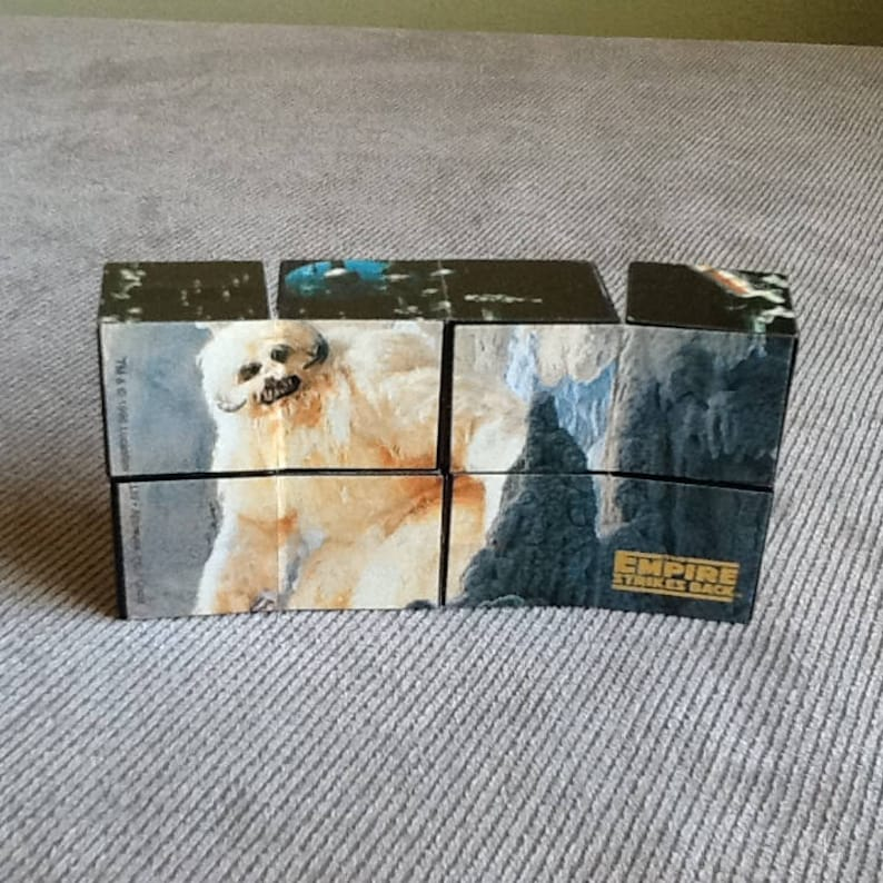 Vintage Star Wars Trilogy Special Edition Puzzle Cube By Taco Bell From 1996