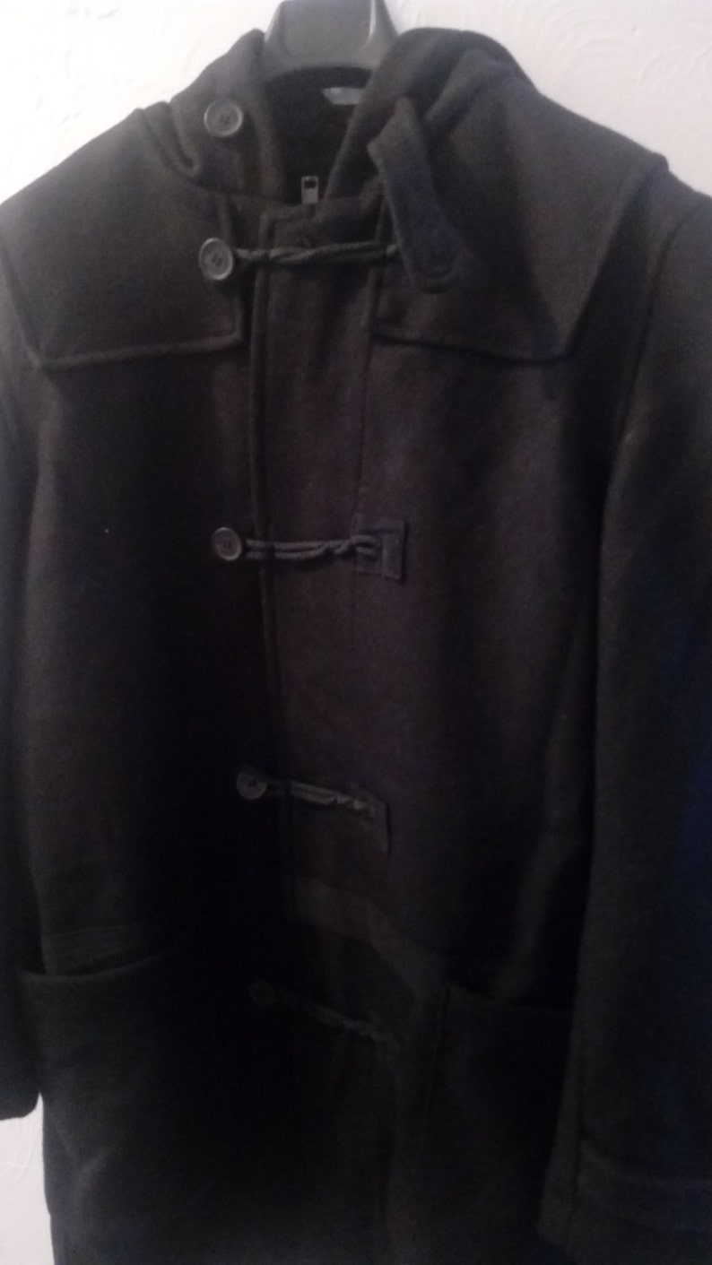 2945357496dd NIGEL CABOURN Utility Military Duffel Coat Jacket Like NEW