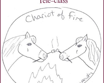 Chariot of Fire Teleclass Recording and Workbook - self-development class using the tarot archetype of the Chariot