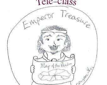 Emperor Treasure Teleclass Recording and Workbook - self-development class using the tarot archetype of the Emperor