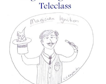 Magician Ignition Teleclass Recording and Workbook - self-development class using the tarot