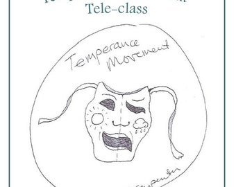 Temperance Movement Teleclass Recording and Workbook - self-development class using the tarot archetype of Temperance
