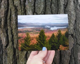 Greeting Card - Blank - Adirondack Mountains