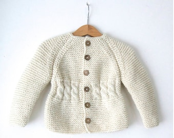 bed5d7c93a7f Wool baby cardigan