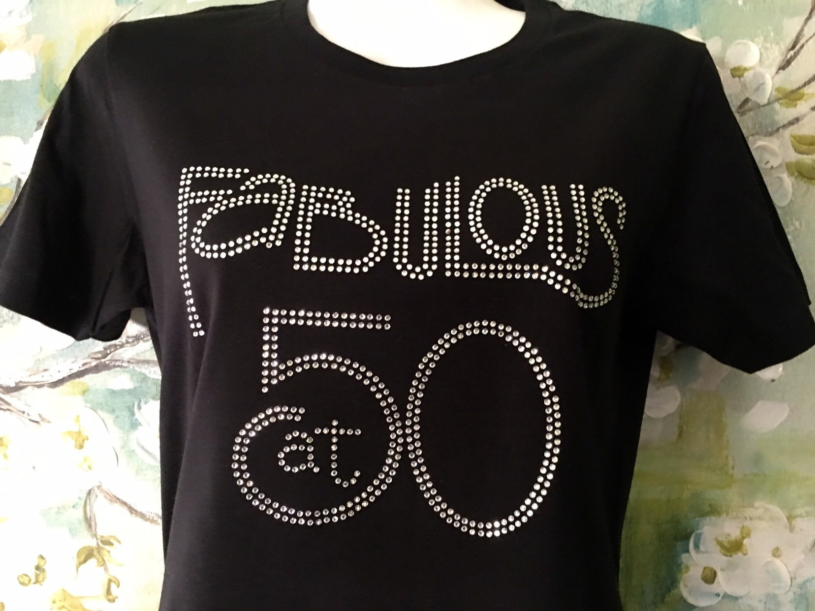 Birthday Shirt FABULOUS At FIFTY 50th Party