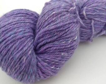 Handspun SW Merino, Alpaca, Angora yarn - 5.4 oz, 277 yards