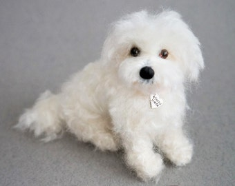 8d843ea20ba80f Needle Felted Toy Poodle Cockapoo Replica Custom Pet