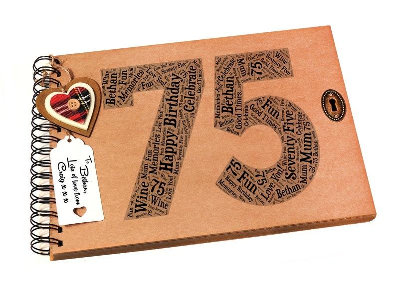 Memoria//libro de visitas 6 X 4 21st regalo de cumpleaños Personalised Álbum De Fotos