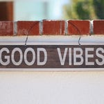 GOOD VIBES vintage sign
